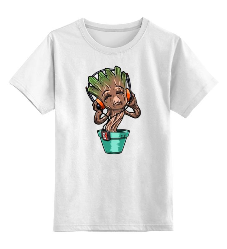 Детская футболка классическая унисекс Printio Зомби цветок майка классическая printio зомби цветок