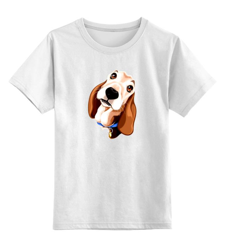 Детская футболка классическая унисекс Printio Смешная собачка футболка классическая printio смешная собачка