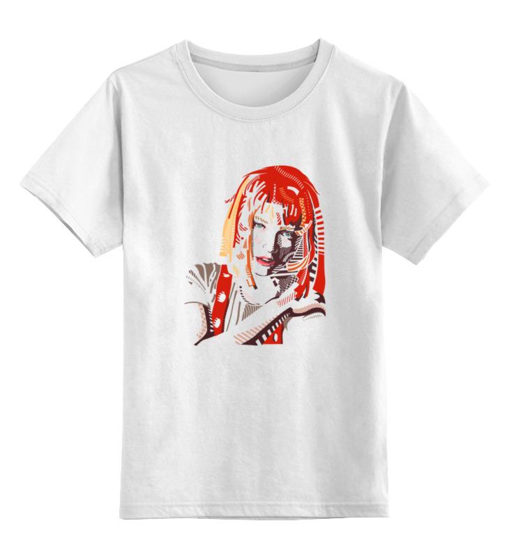 Детская футболка классическая унисекс Printio Лилу (пятый элемент) футболка wearcraft premium slim fit printio лилу пятый элемент