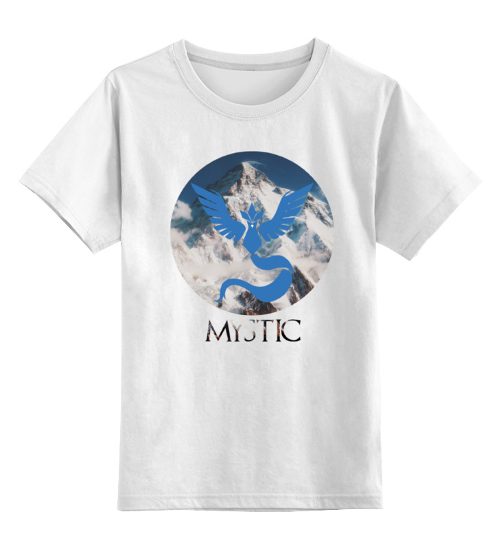 Детская футболка классическая унисекс Printio Mystic детская футболка классическая унисекс printio мачете