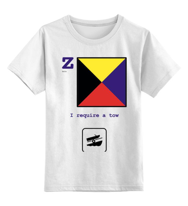 Детская футболка классическая унисекс Printio Zulu (z), флаг мсс (eng) детская футболка классическая унисекс printio india i флаг мсс eng