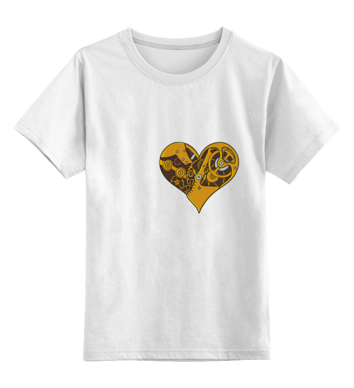 Детская футболка классическая унисекс Printio Механическое сердце детская футболка классическая унисекс printio механическое сердце