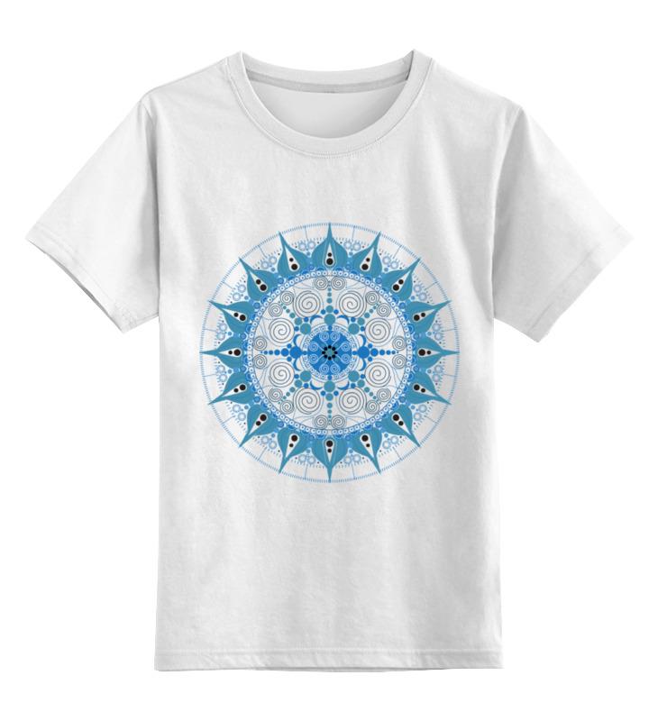 Детская футболка классическая унисекс Printio Мандала для счастья в личной жизни футболка wearcraft premium printio мандала для счастья в личной жизни