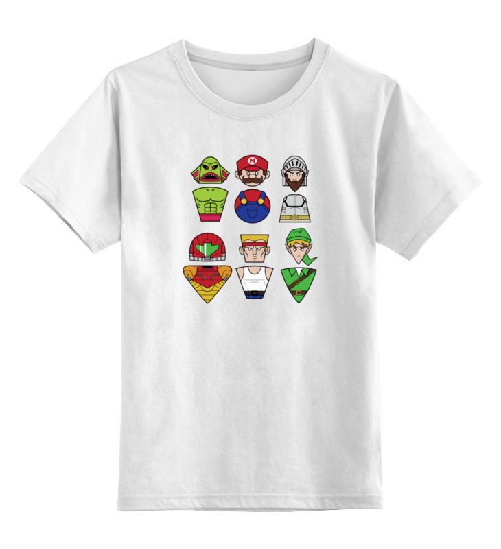Детская футболка классическая унисекс Printio Герои игр цена