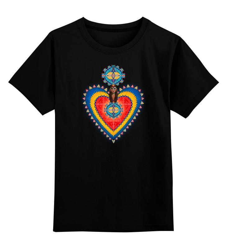 Детская футболка классическая унисекс Printio Хранитель сердце лонгслив printio хранитель сердце