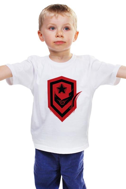 Детская футболка классическая унисекс Printio Терраны (старкрафт) старкрафт купить автобус 16 20 мест