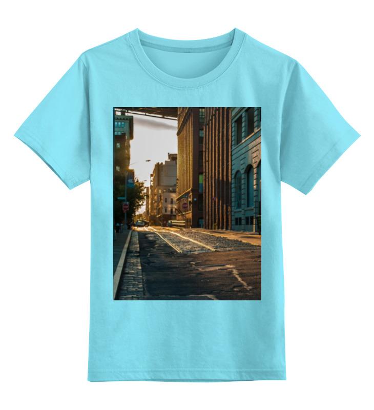 Детская футболка классическая унисекс Printio Evening brooklyn футболка классическая printio brooklyn bike