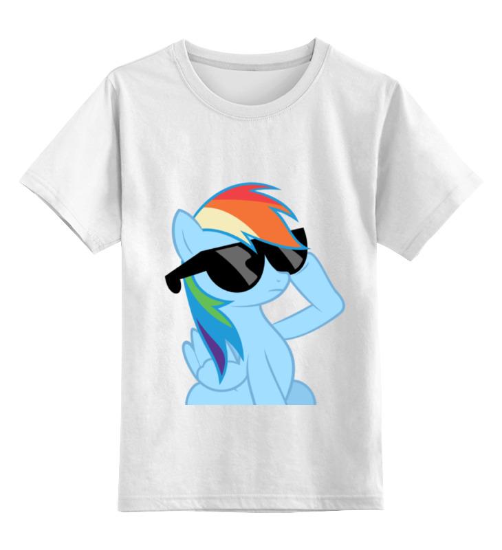 Детская футболка классическая унисекс Printio Rainbow dash dash