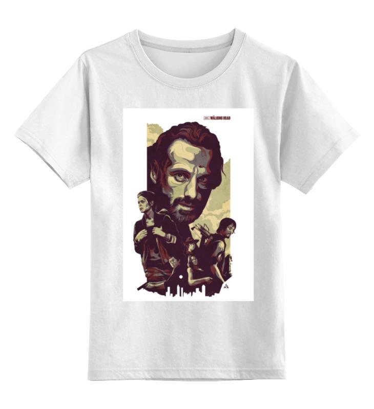 Детская футболка классическая унисекс Printio The walking dead bringing up the dead