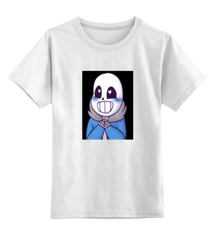Детская футболка классическая унисекс Printio компьютерный герой санс детская футболка классическая унисекс printio санс