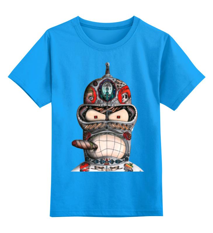 Printio Бендер из футурамы детская футболка классическая унисекс printio классическая футболка dota 2