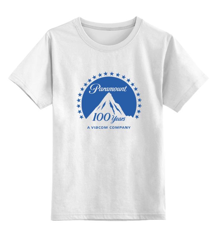 Детская футболка классическая унисекс Printio Paramount pictures коллекция paramount том 4 триллеры 4dvd