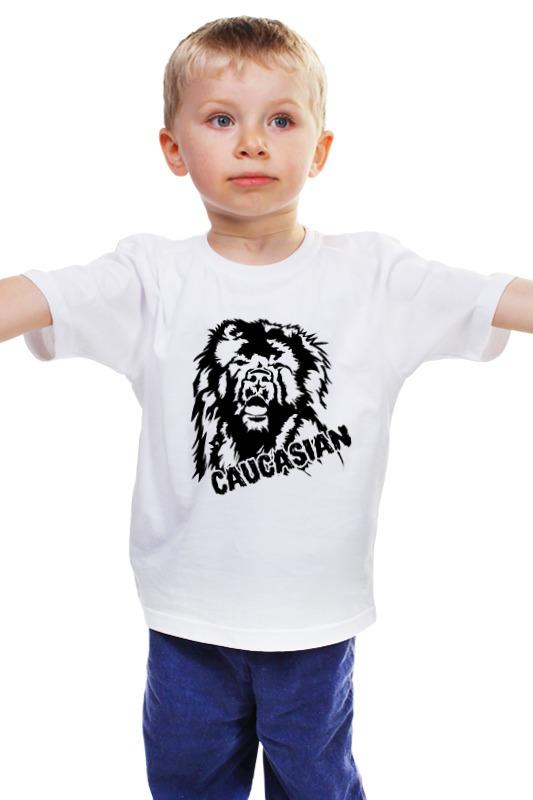 Детская футболка классическая унисекс Printio Кавказская овчарка, кавказ��ц сумка printio кавказская овчарка кавказец