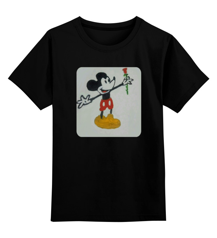 Детская футболка классическая унисекс Printio Мышонок футболка классическая printio радостный крот