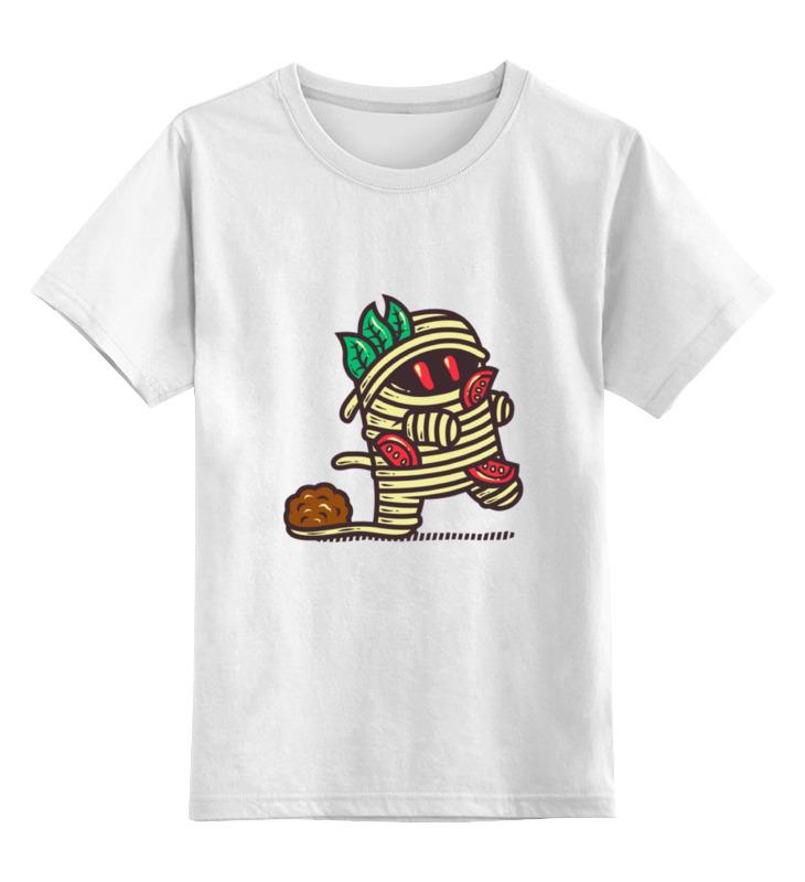 Детская футболка классическая унисекс Printio Мумия из спагетти клод изнер мумия из бютт о кай