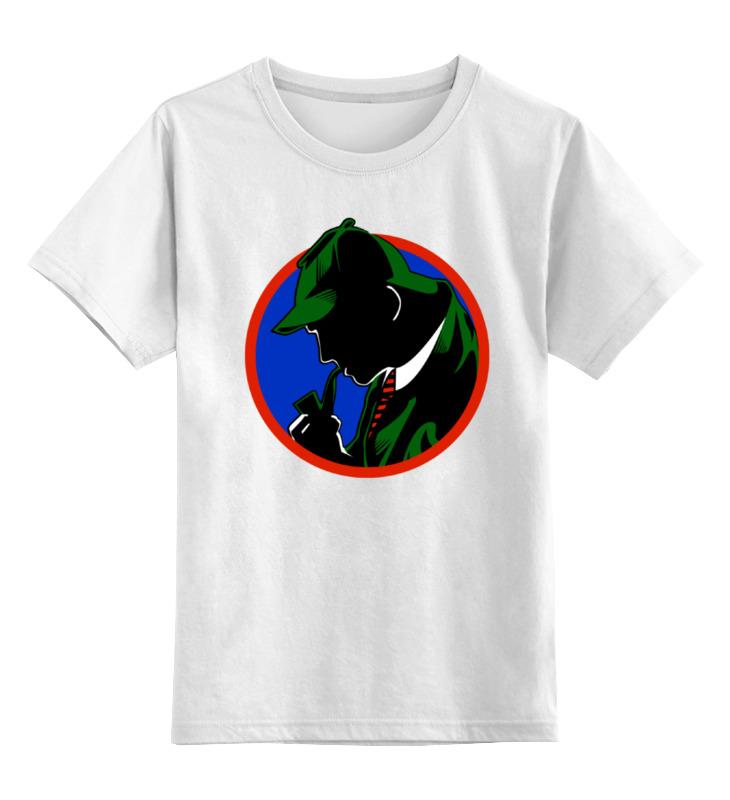 Детская футболка классическая унисекс Printio Шерлок холмс детская футболка классическая унисекс printio spitfire