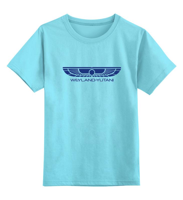 Детская футболка классическая унисекс Printio Чужой завет weyland yutani футболка