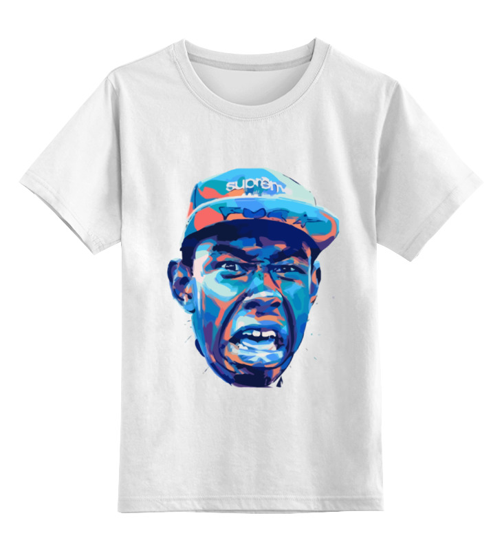 Детская футболка классическая унисекс Printio Tyler, the creator футболка классическая printio tyler the creator