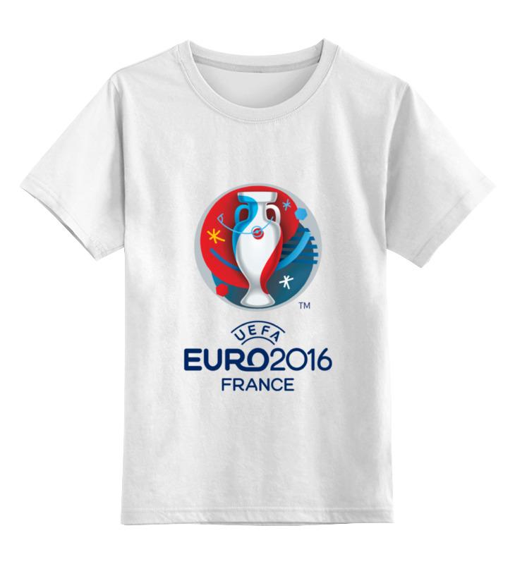 где купить Детская футболка классическая унисекс Printio Uefa euro 2016 по лучшей цене