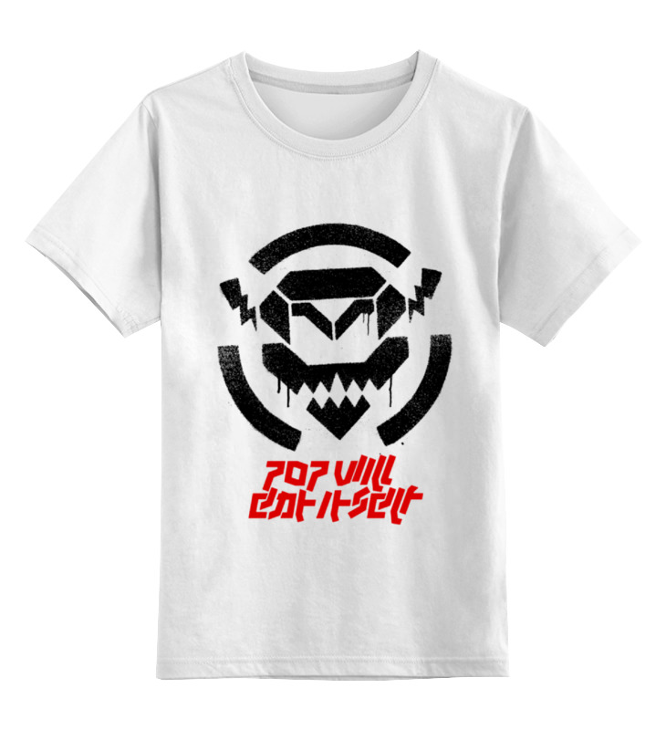 Детская футболка классическая унисекс Printio Pop will eat itself стоимость
