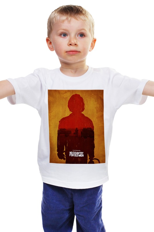 Детская футболка классическая унисекс Printio Старикам тут не место / no country for old men no country for old men
