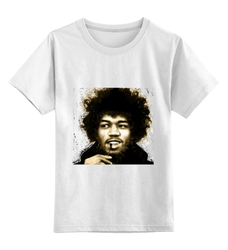 Детская футболка классическая унисекс Printio Джими хендрикс холст 50x50 printio джими хендрикс
