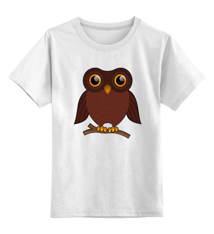Детская футболка классическая унисекс Printio Совёнок футболка классическая printio футболка совёнок