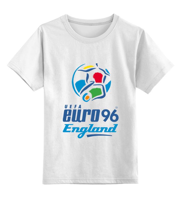 Детская футболка классическая унисекс Printio Чемпиона европы по футболу 1996 год билеты на квн финал 19 12 09