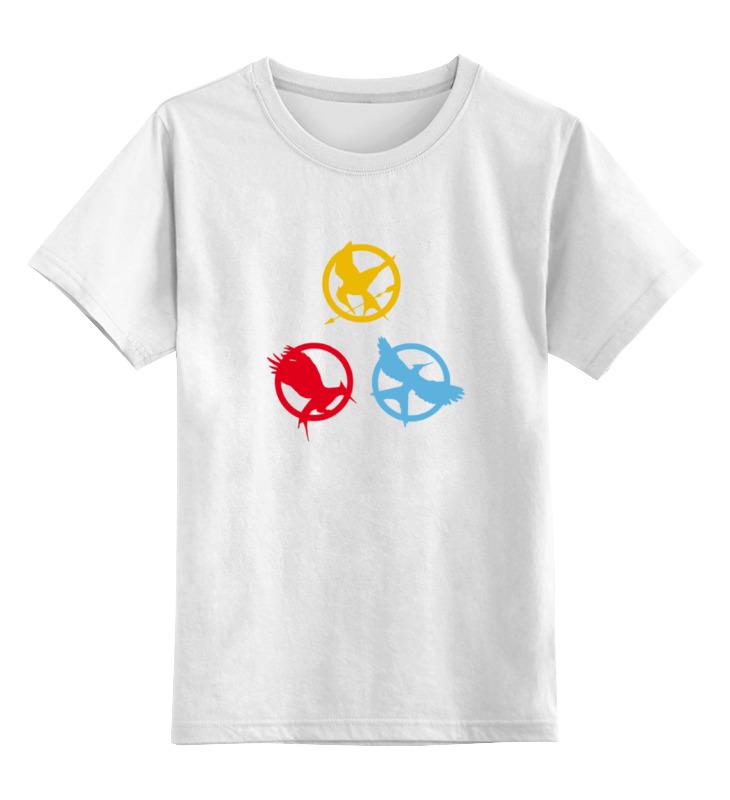 Детская футболка классическая унисекс Printio Голодные игры (the hunger games)