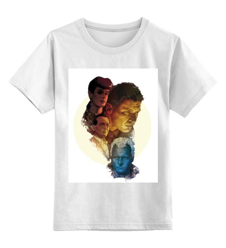 Детская футболка классическая унисекс Printio Бегущий по лезвию майка классическая printio бегущий по лезвию