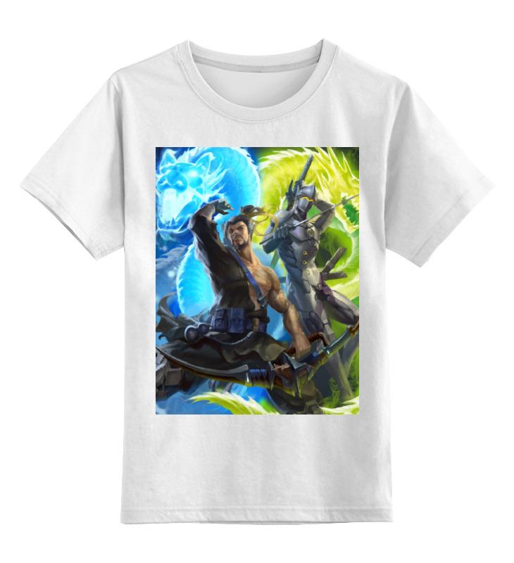 Printio Overwatch детская футболка классическая унисекс printio overwatch