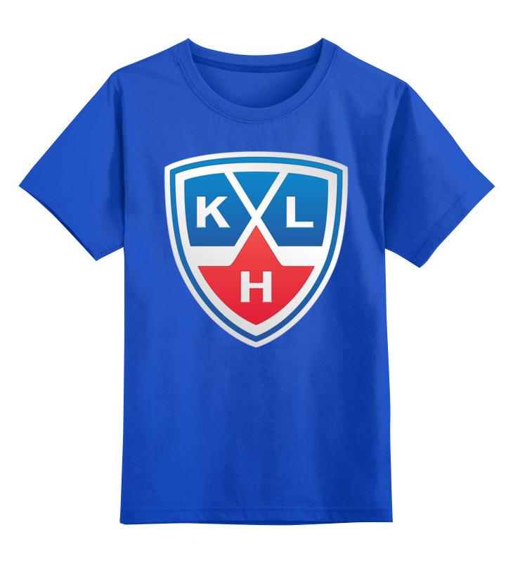 Детская футболка классическая унисекс Printio Хоккей (кхл) как карта болельщика кхл