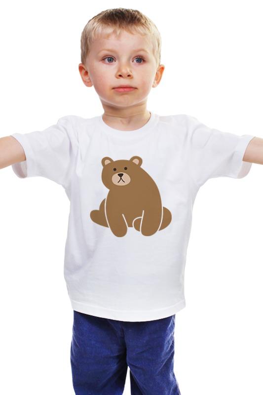 Детская футболка классическая унисекс Printio Мишка детская футболка классическая унисекс printio мачете