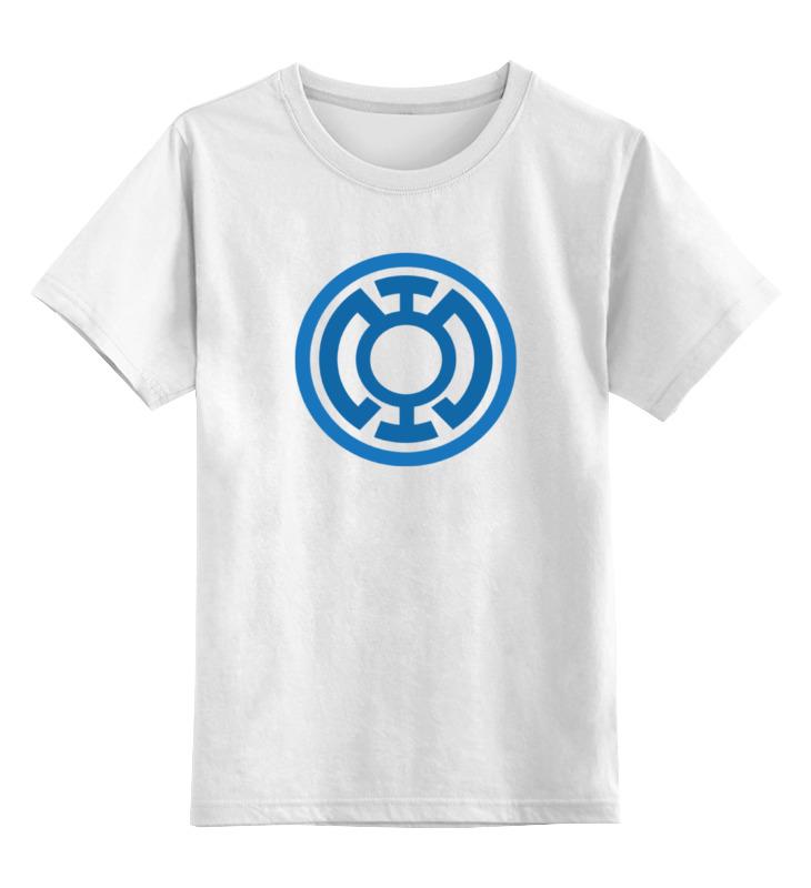 Детская футболка классическая унисекс Printio Голубой фонарь футболка классическая printio sheena contra hard corps