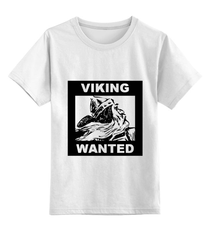 Детская футболка классическая унисекс Printio Ищем викинга! топор викинга в подарок