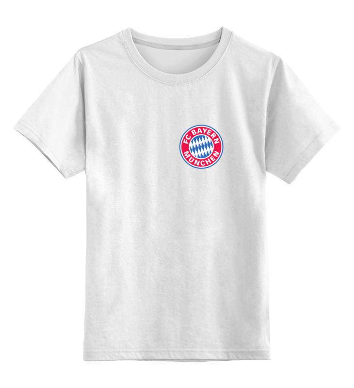 Детская футболка классическая унисекс Printio Бавария футболка бавария