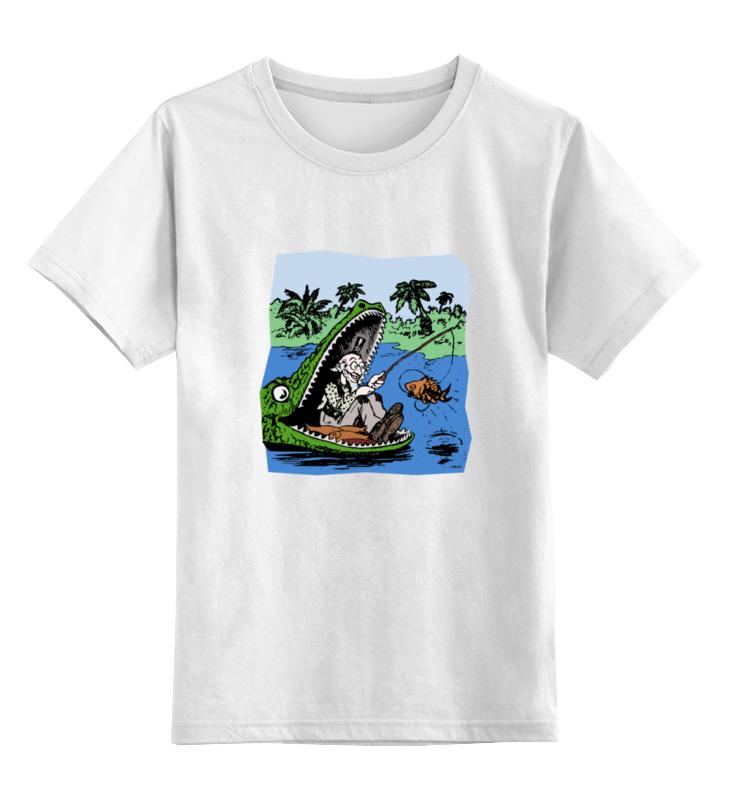 как ловить рыбу удочкой Детская футболка классическая унисекс Printio Рыбалка