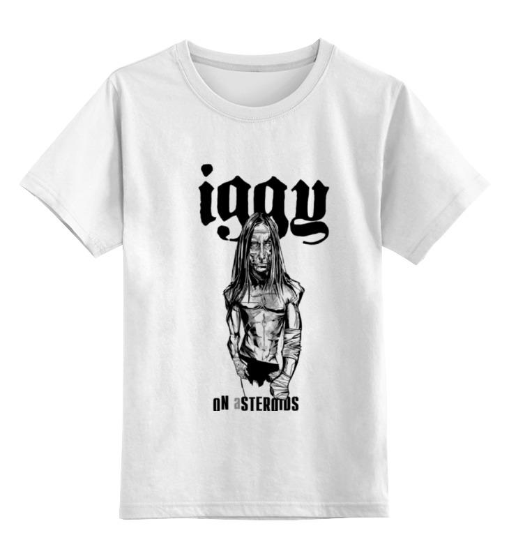 Детская футболка классическая унисекс Printio Iggy on asteroids iggy pop iggy pop the idiot