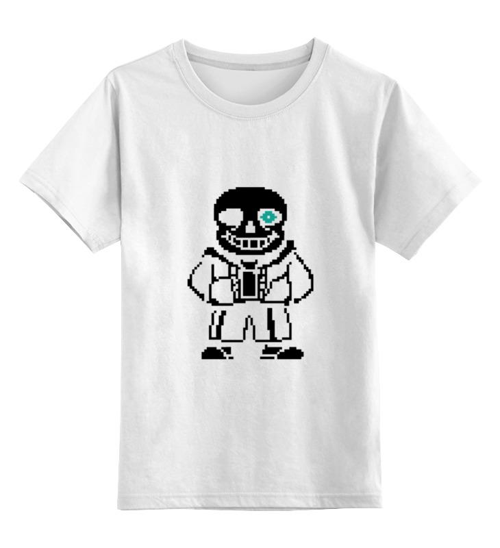 Детская футболка классическая унисекс Printio Sans boss футболка wearcraft premium slim fit printio sans boss