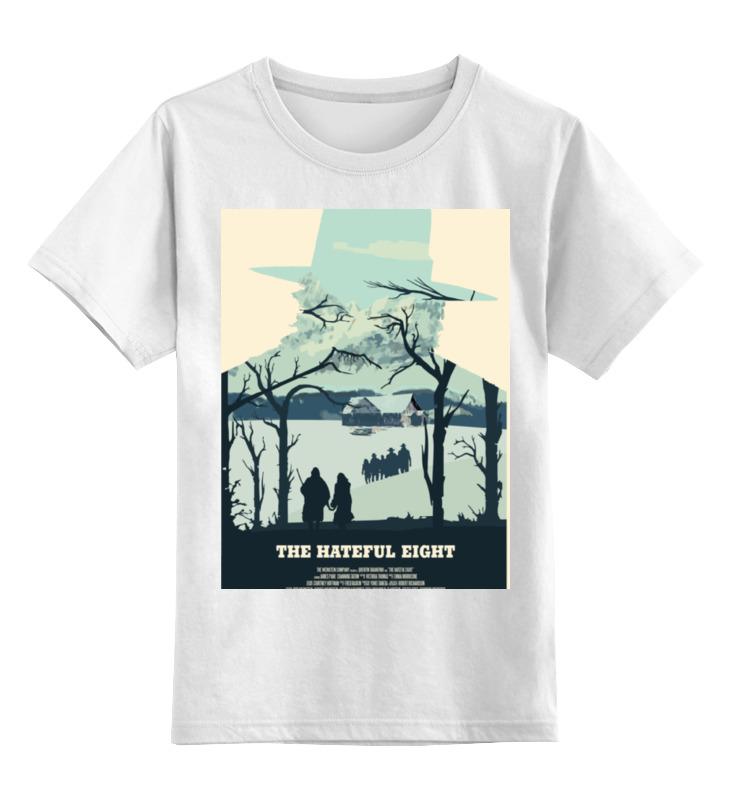 все цены на Детская футболка классическая унисекс Printio Омерзительная восьмёрка / the hateful eight онлайн