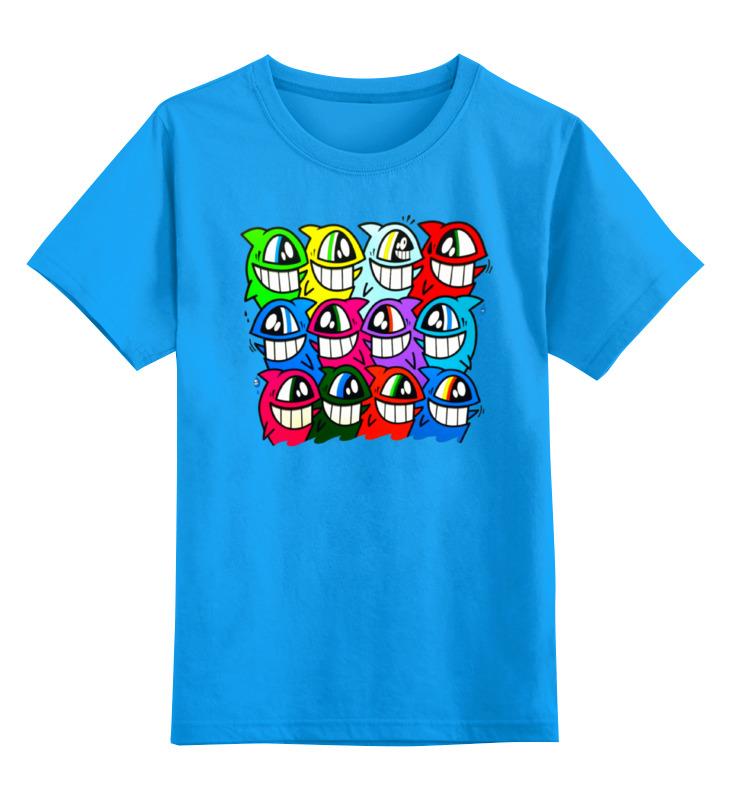 Детская футболка классическая унисекс Printio Весёлый арт цена и фото