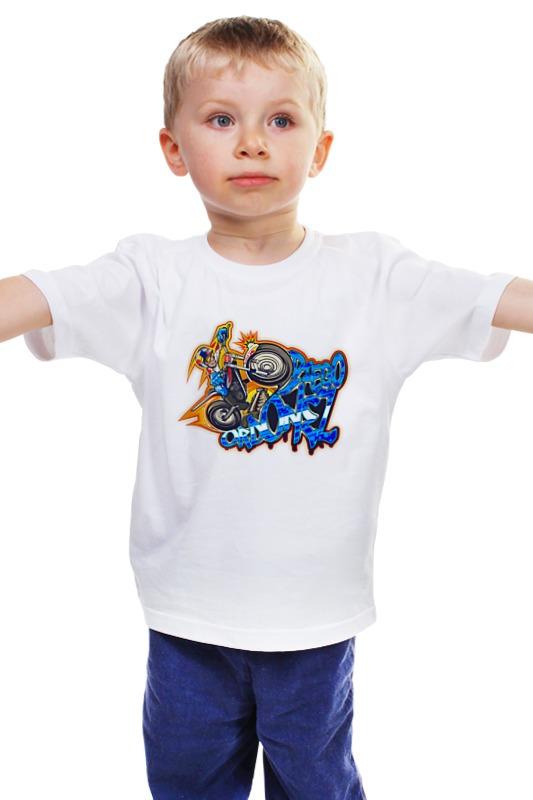 Детская футболка классическая унисекс Printio Гонщик детская футболка классическая унисекс printio мачете