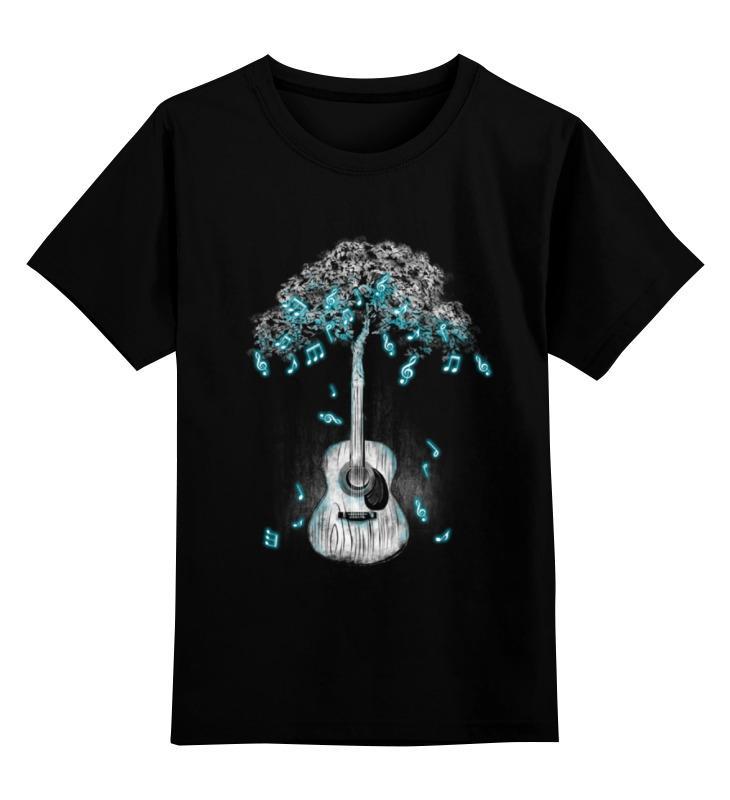 Детская футболка классическая унисекс Printio Музыкальное дерево