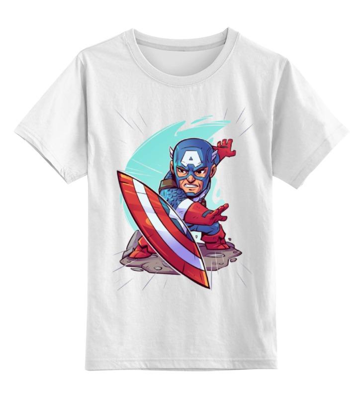 Детская футболка классическая унисекс Printio Капитан америка детская футболка классическая унисекс printio мачете
