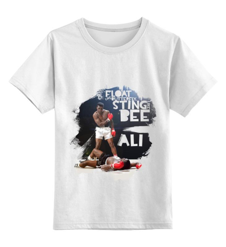 Детская футболка классическая унисекс Printio порхай, как бабочка... али футболка трешер на али
