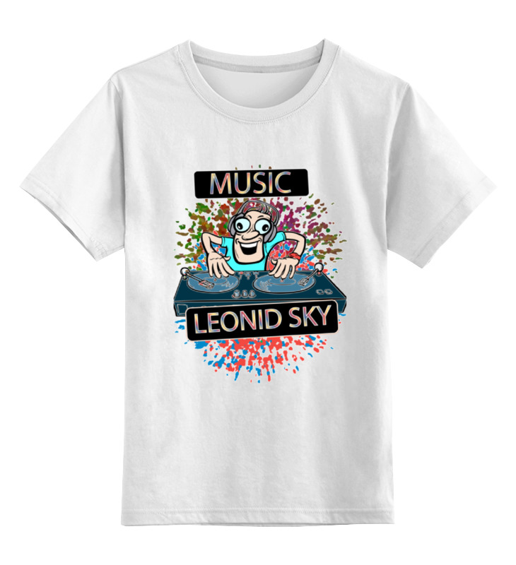 Детская футболка классическая унисекс Printio Заводной диджей майка классическая printio заводной диджей