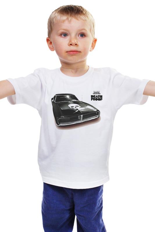 Детская футболка классическая унисекс Printio Death proof car детская футболка классическая унисекс printio death