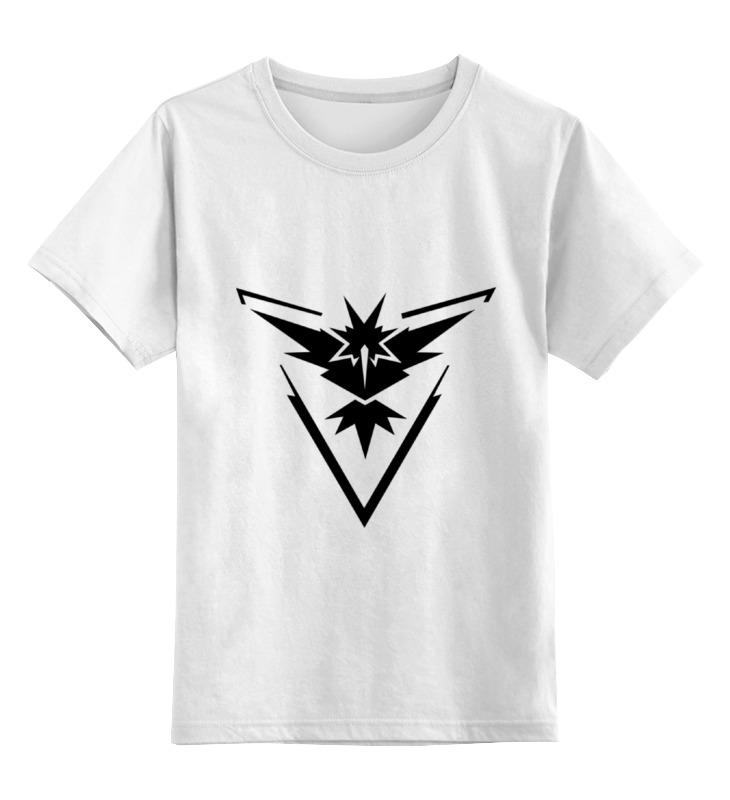 Детская футболка классическая унисекс Printio Pokemon go
