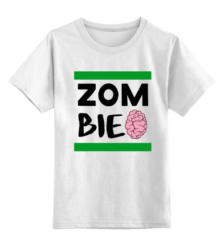 Printio Зомби (zombie) детская футболка классическая унисекс printio рука зомби zombie hand