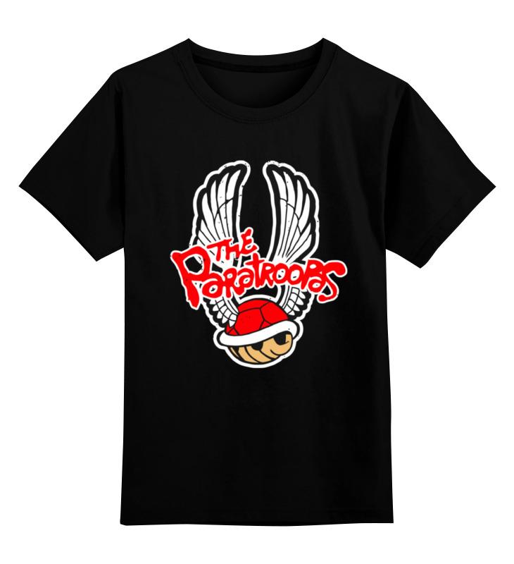 Детская футболка классическая унисекс Printio Черепаха из марио детская футболка классическая унисекс printio марио